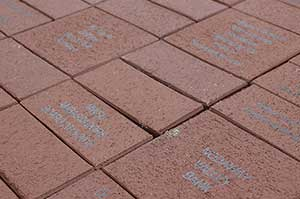 Bricks at the Victory Plaza