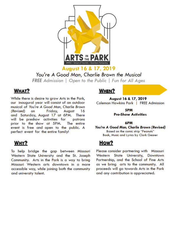Arts in the Park Event Sponsorship2
