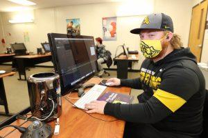 student mask computer